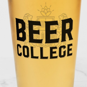 Beer College 16 Ounce Glass (Image)
