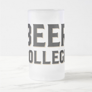 Beer College Frosted Mug (Image)