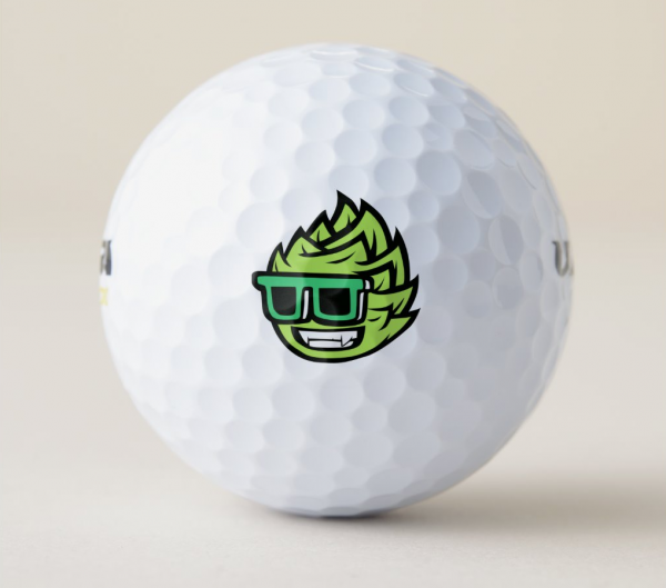Beer College Hoppy Golf Ball (Image)