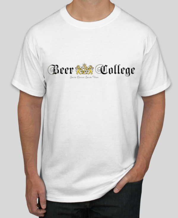 Beer College Old English T-Shirt