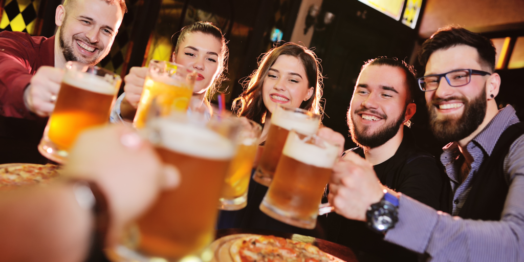 Beer College Campus Pub Pizza and Beer (Photo)